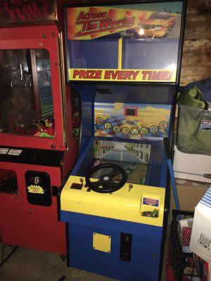 Prize vending machine driving arcade game for Sale in Shoreline, WA