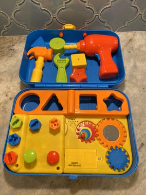 Black and decker kids tools, puzzle, fishing game, book for Sale in Odessa, FL