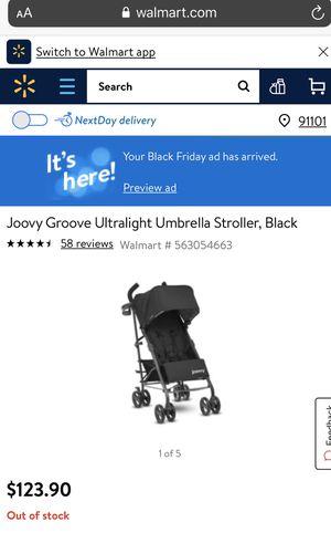 Joovy Groove Ultralight Umbrella Stroller for Sale in Altadena, CA