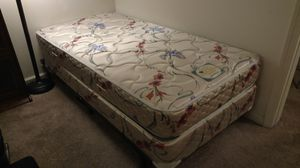 NEW Frame *AND* Mattress with little wear~ Twin Bed for Sale in San Ramon, CA