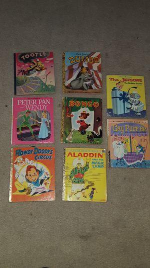 Vintage Little Golden Books, Walt Disney, Hannabarbera, for Sale in University Place, WA