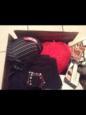 Lingerie - new - Box of 25 pieces - bras, body slimmers, panties, Victoria secret, more for Sale in Boca Raton, FL