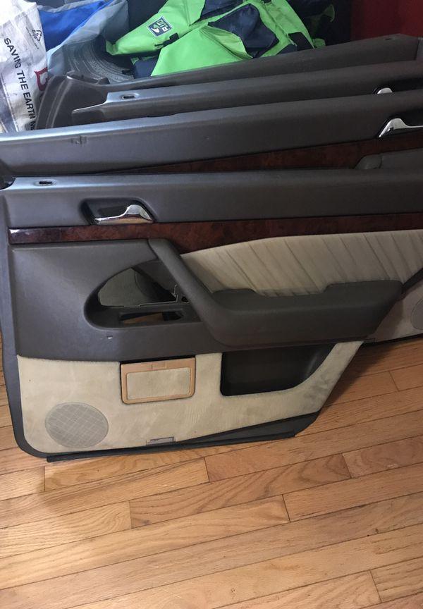 1995 1996 1997 MERCEDES S500 beige door panels w140 parts