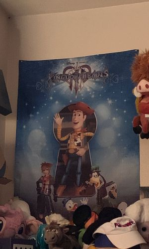KINGDOM HEARTS 3 FLAG for Sale in Norco, CA