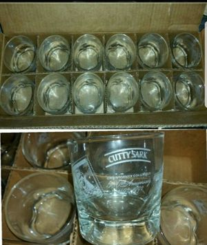 Cutty Sark Scotch Whiskey Glasses for Sale in North Las Vegas, NV