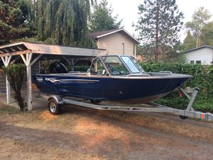 2017 18ft Seahawk fishing boat - Perfect Condition! for Sale in Seattle, WA
