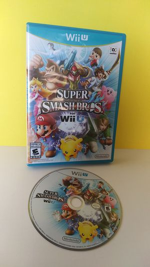 Nintendo Wii U Super SmashBros Great Condition for Sale in San Diego, CA