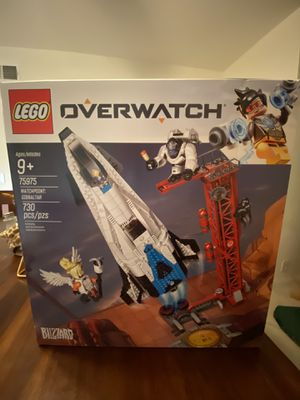 Overwatch Legos Watchpoint Gibraltar (BRAND NEW SEALED) 75975 for Sale in Lake Forest, CA