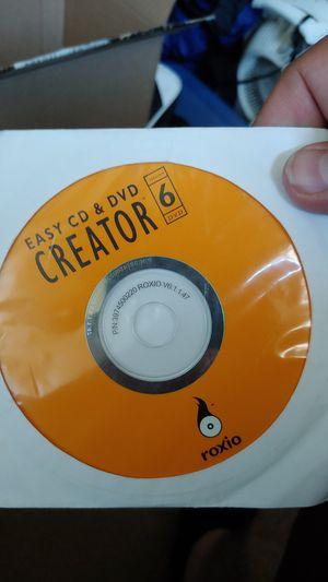 Roxio easy cd & dvd creator for Sale in Garden Grove, CA