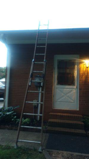 Werner fiber glass extension ladder for Sale in Mebane, NC