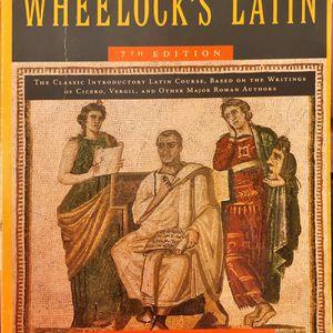 Wheelock's Latin 7th Edition with companion Workbook for Wheelock's Latin 3rd Edition for Sale in Reading, PA