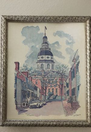 Annapolis painting by WH Bond for Sale in Chandler, AZ
