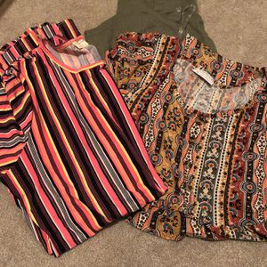 Lot Of NWT Bobbie Brooks Size 1X Tops for Sale in Angier, NC