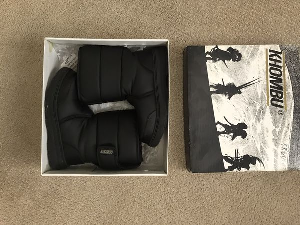 Kids Snow Boots Black Size 2M
