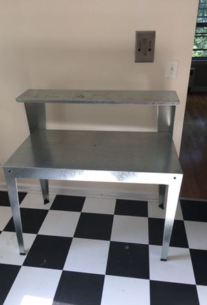 Steel work bench. I used as a kitchen cart. for Sale in Cleveland, OH