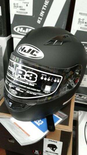 HJC motorcycle full face helmet brand new CS R3 DOT approved for Sale in Los Angeles, CA
