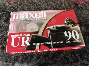 MAXELL AUDIO CASSETTES - 90 min - NEW! for Sale in Chicago, IL