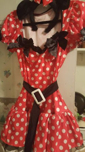 Minnie mouse costume large for Sale in Pasadena, CA