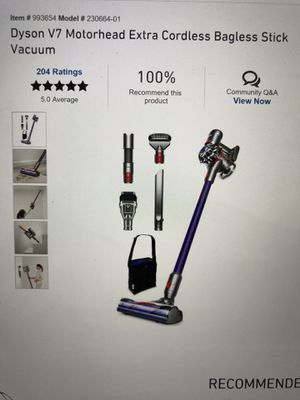 Dyson vacuum its truly a amazing vacuum for Sale in Houston, TX