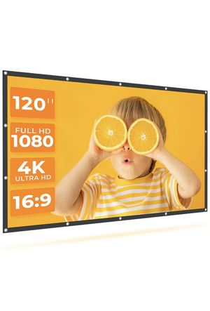Projector Screen, movie screen for Sale in Houston, TX