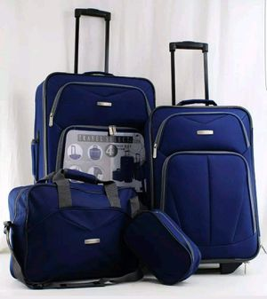 Travel Select Kingsway 4-piece Set Navy Blue for Domestic Flight for Sale in Houston, TX