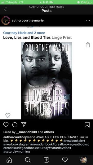 Love, Lies and Blood Ties for Sale in Columbus, OH