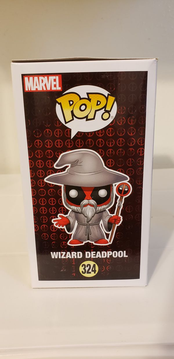 Wizard Deadpool Funko Pop!