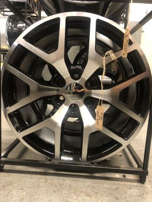 BRAND NEW 22 in black and machined rims for only $900!!! for Sale in Joint Base Lewis-McChord, WA