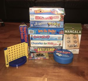Complete Board Games-Great for Christmas Gifts! for Sale in Alhambra, CA