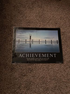 Achievement poster for Sale in Quincy, IL