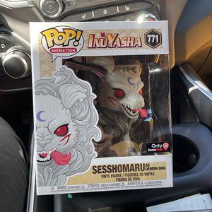 Inuyasha Funko Pop Number 771 Sesshomaru As Demon Dog for Sale in Weston, FL