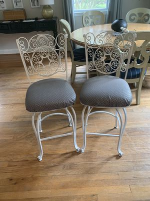 Wrought Iron Swivel Bar Stools for Sale in Annandale, VA