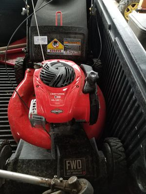 Craftsman lawn mower for Sale in Fresno, CA