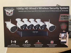 Night Owl Security System for Sale in Riverview, FL