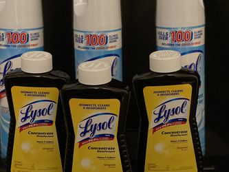 Lysol/lysol concentrate for Sale in Lawton,  OK