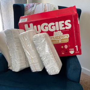Size 1 HUGGIES - 90ct for Sale in Tampa, FL