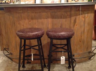 Pottery Barn Bar With 2 Stools for Sale in Costa Mesa,  CA