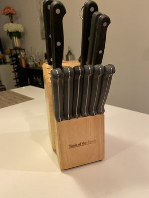Tools of the Trade Knife Block for Sale in Boca Raton, FL