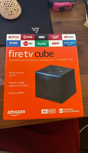 Fire tv cube brand new / sealed for Sale in Seattle, WA
