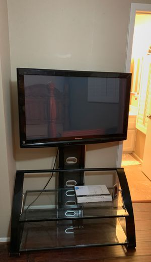 "42"" mounted with stand, Panasonic flat screen TV! for Sale in Gilbert, AZ"