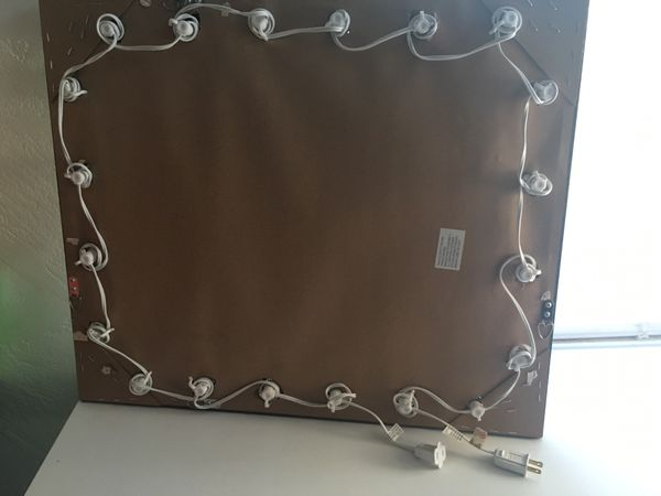 lighted mirror $100 OBO