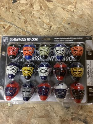 Goaliemask tracker for Sale in Peoria Heights, IL