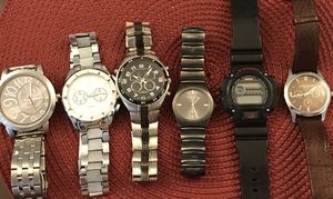 Watches - All 6 watches for $80 for Sale in Norridge, IL