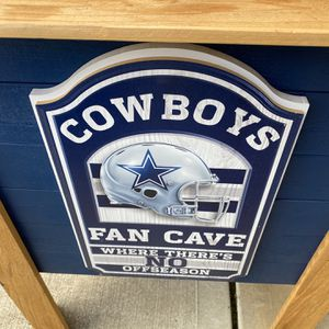 Cowboys big cooler new never used for Sale in Houston, TX