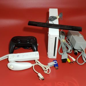 Nintendo Wii With 54 N64 And Wii Games Including All Mario Games for Sale in Happy Valley, OR