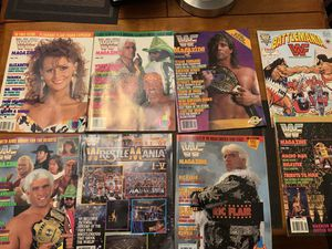 157 assorted WWE, RAW, SMACKDOWN magazines for Sale in Milford, CT