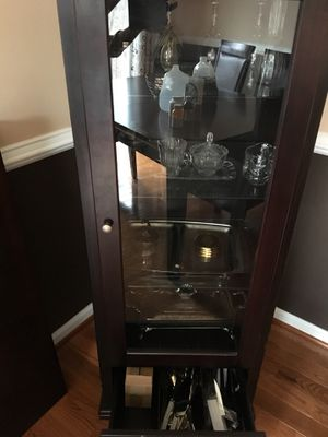 Cabinet/Shelf with Glass door for Sale in Germantown, MD
