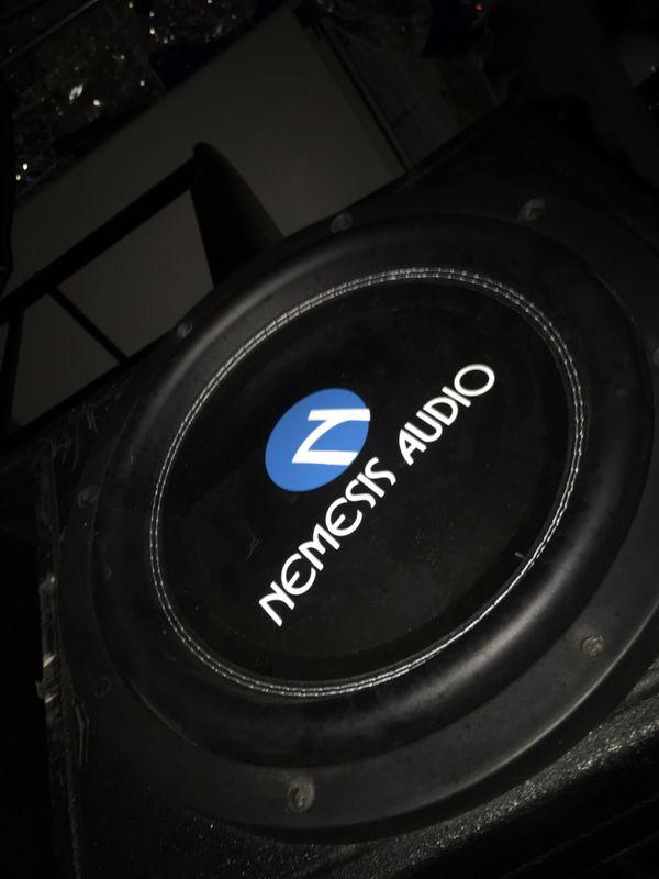Nemesis audio 2 12s with pro box
