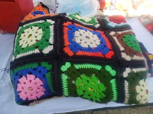 Hand made colorful blanket for Sale in Fresno, CA