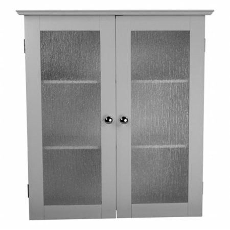 Wall cabinet with 2 glass doors
